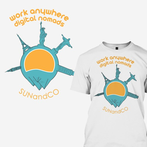 Sun and Co t-shirt