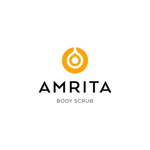 Amrita logo design