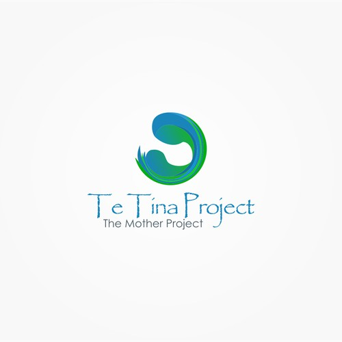 logo for Te Tina Project (The Mother Project)