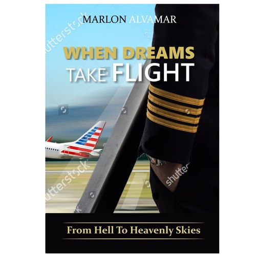 Book cover on airline captain struggle for his career