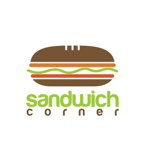 Create the next logo for Sandwich Corner