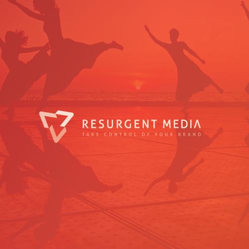 logo for resurgent media