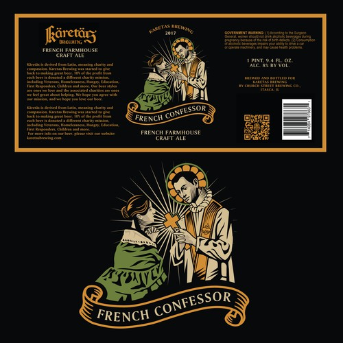 Craft Beer label