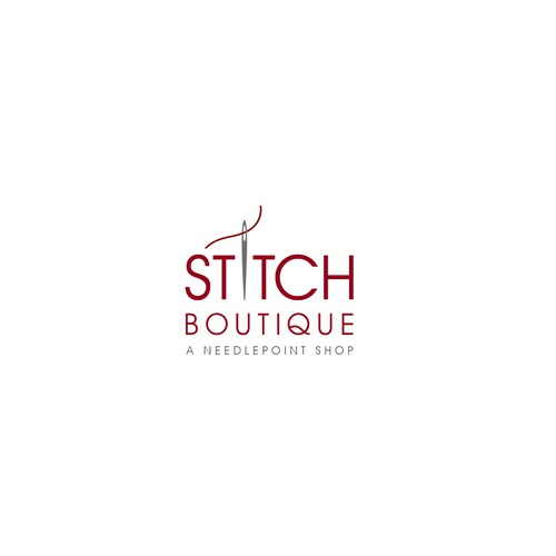Stitch Boutique Logo Design