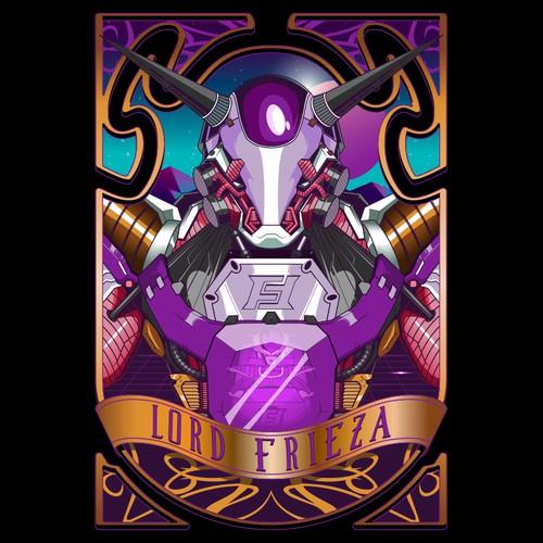 Frieza Dragonball Mecha style