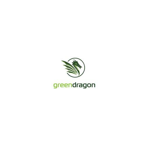 Green dragon logo