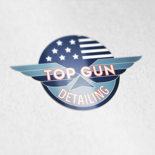 Logo for Top Gun Detailing