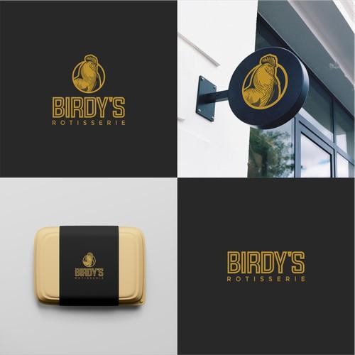Logo for Birdy's Rotisserie