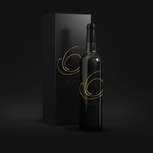 Logo for wine.