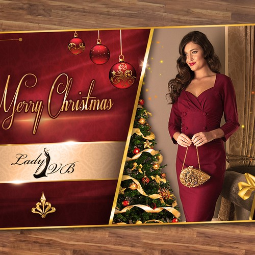 Lady VB Christmas Luxe Campaign