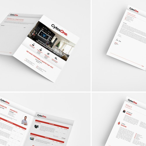 Sales Template Design