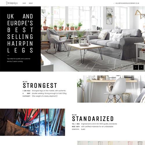 Furniture Site Revamp