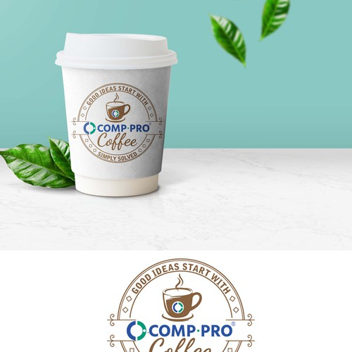 compro design coffee pcup