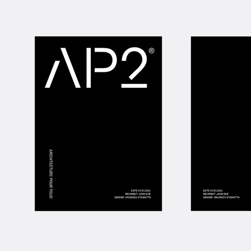 Brand Development Concept for Architecture and Design Studio from Melbourne