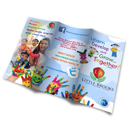 Little Brooks, Brochure Design