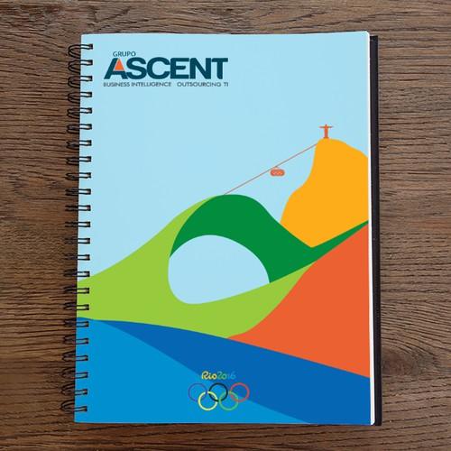 Ilustração para Carderno do Grupo Ascent