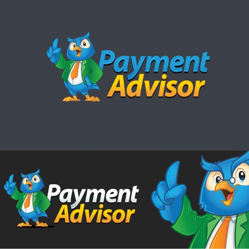 Logo + Character Logo  Design for Payment Advisor