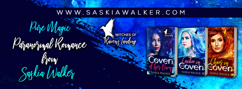 Facebook banner for Witches of Raven's Landing