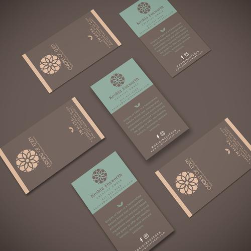 Origins of Eden Business Cards