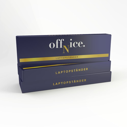 Laptopstander packaging
