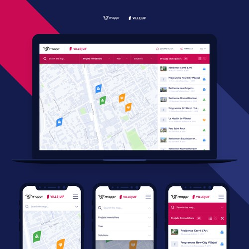 Map Software UI/UX