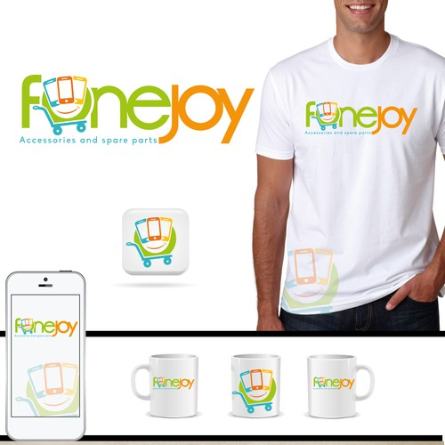 Design a fun modern logo for Fonejoy