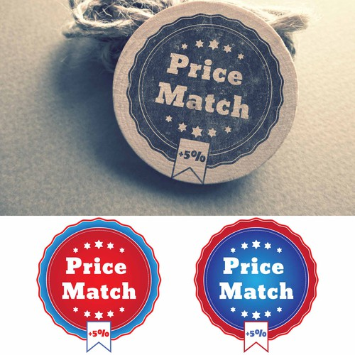 Price match logo