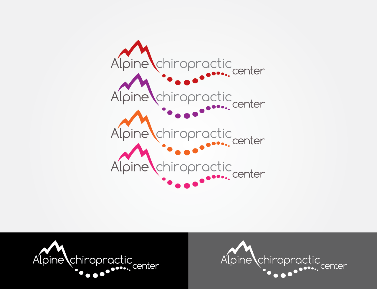 Help Alpine Chiropractic Center with a new logo