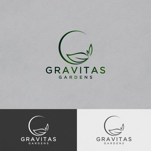 Gravitas Garden - Logo design for Mr. jamesMU