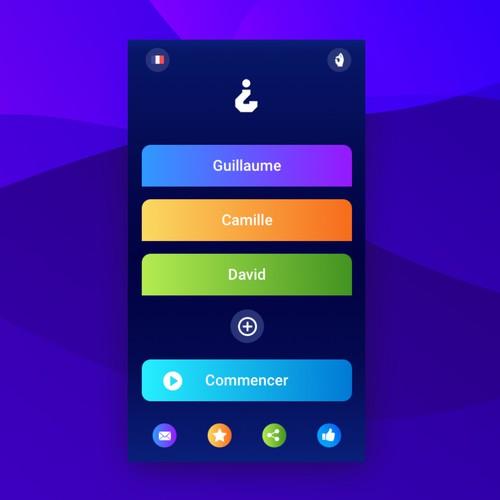 Game App screen