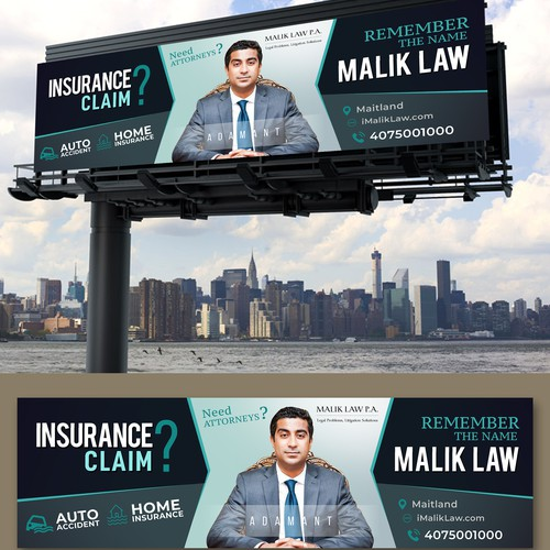 Insurance Company Bill Board