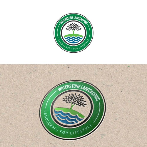 logo Waterstone Landscaping