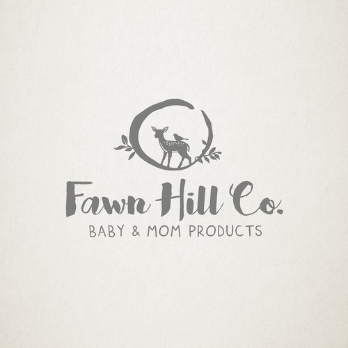 natural logo for Fawn Hills Co.