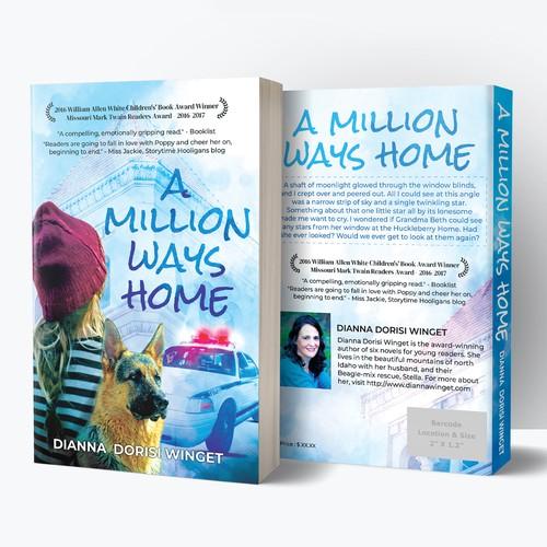 'A Million Ways Home' Book Cover Design