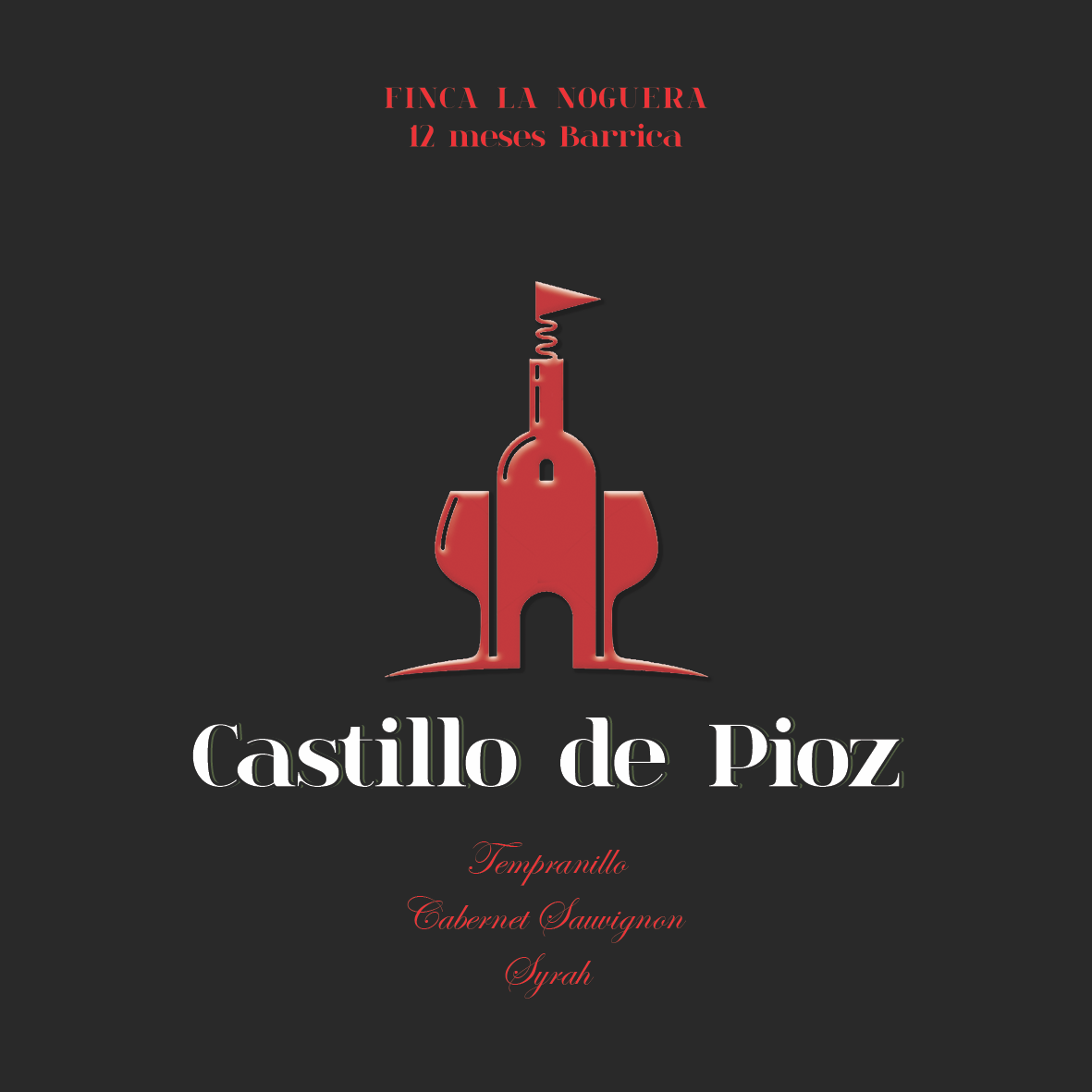Etiqueta Castillo de Pioz