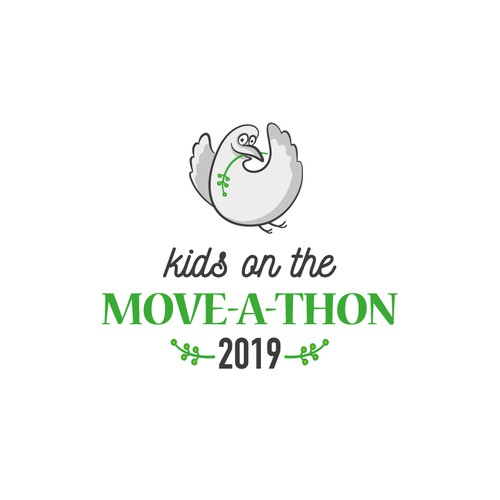 logo for Kids on the MOVE-A-THON