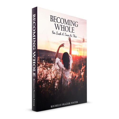 BOOK COVER DESIGN - BECOMING WHOLE