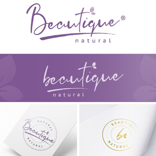 Bespoke beauty logo design