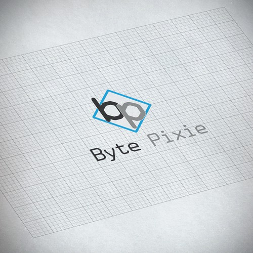 Create a bold, modern and playful logo for Byte Pixie