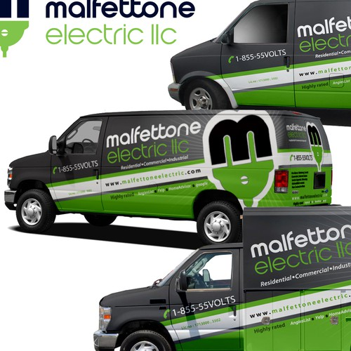 Electrical Contractor Vehicle Wrap