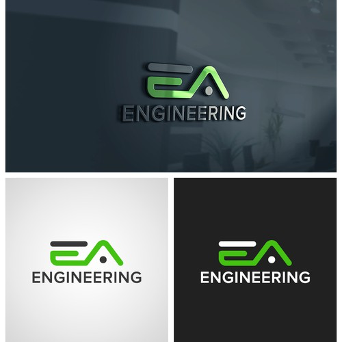 Bold Logo for Engineering Company