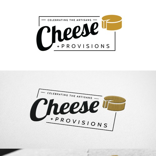 simple cheese sign