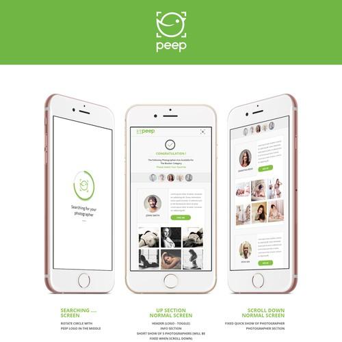 Peep - Mobile Photography Design