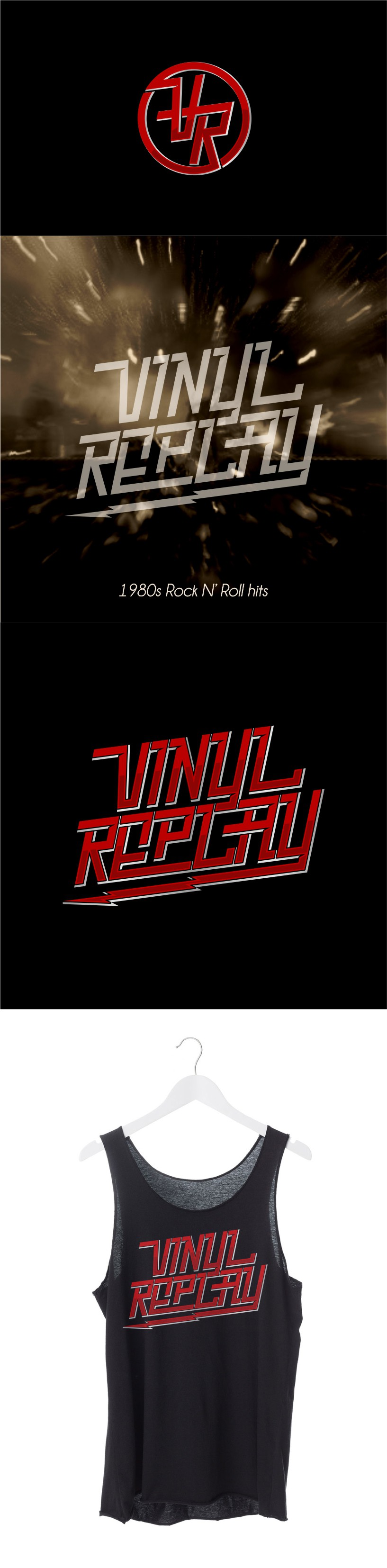 Design the ultimate rock and roll logo for Vinyl Replay