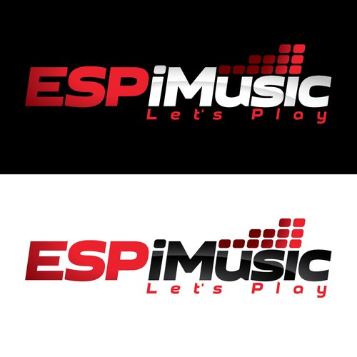 Create a logo for a company that programs music for live major league sporting events.