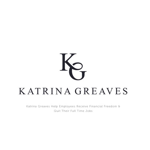 Minimal classic logo for katrina greaves