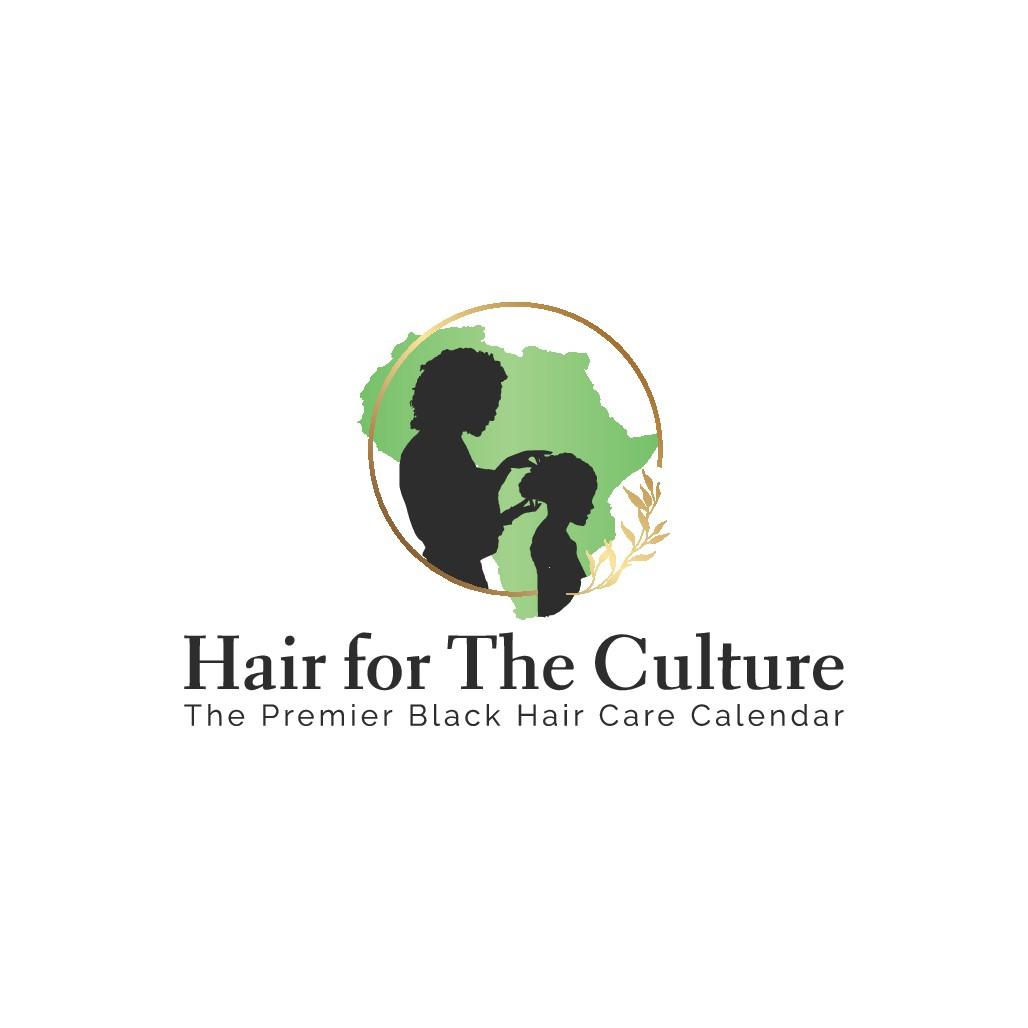 Design Natural Hair logo for Black women to take pride in their hair