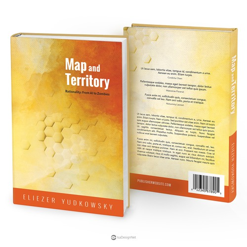 "Book cover for ""Map and Territory"""