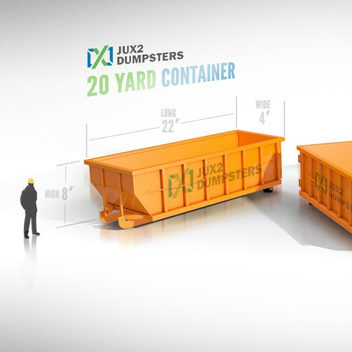 Container 3d Illustration