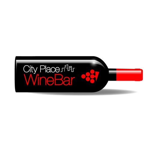 Create a logo for a new urban, hip, classy wine bar in the heart of Silicon Valley, CA